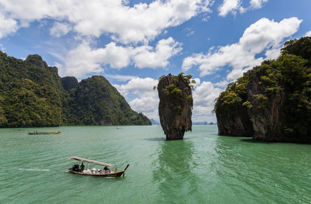 James Bond Island | Image Credit - Diego Delso | CC BY-SA 3.0 via Wikipedia Commons