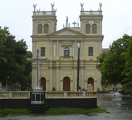 St Mary's Church retuschiert