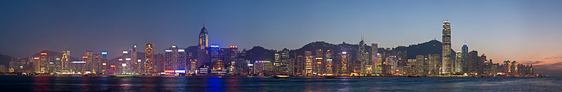 Hong Kong Skyline | Image Credit - Diliff, , CC BY-SA 3.0 via Wikipedia Commons