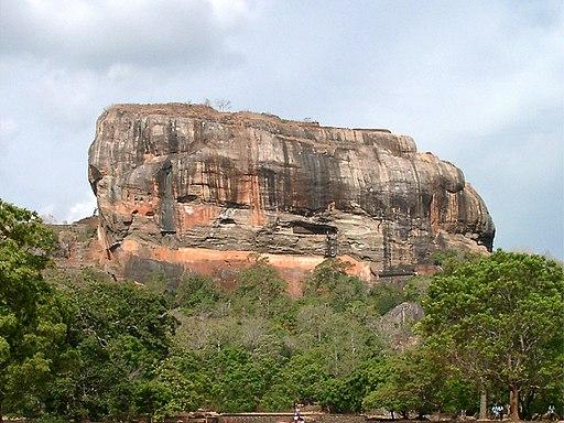 Sigiriya Rock | Image Credit: Dschen Reinecke, Sri Lanka-Sigiriya-Rock, CC BY-SA 3.0