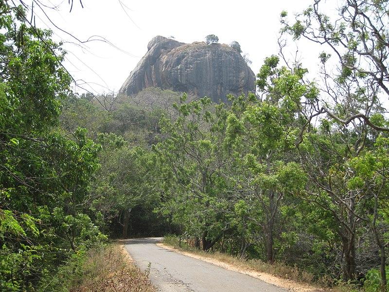 shankar s. from Dubai, united arab emirates, Sigiriya Rock (7567460204), CC BY 2.0 Wikimedia Commons