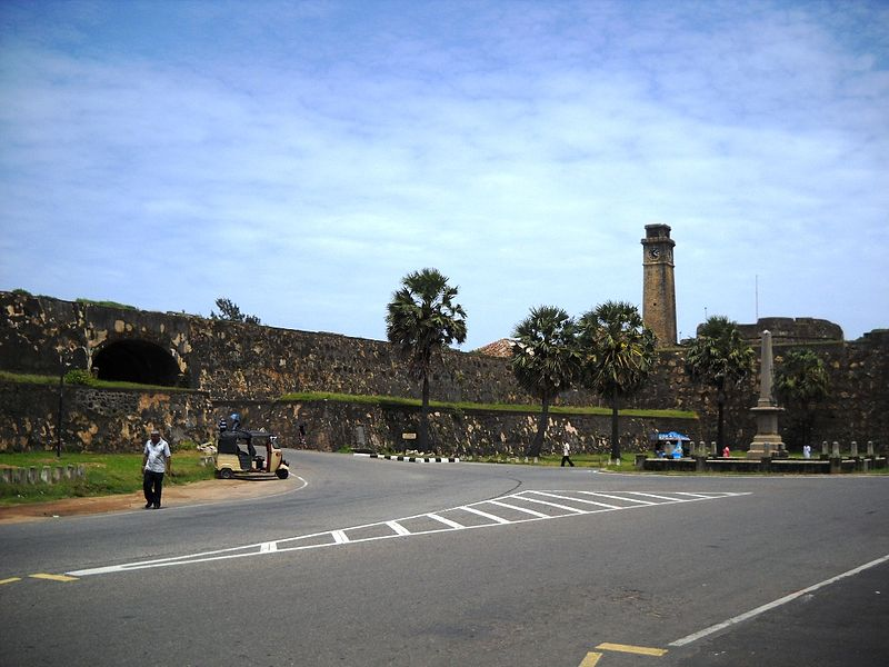 Galle Fort | Image Credit - Shehanw at English Wikipedia, CC BY-SA 3.0 Via Wikimedia Common