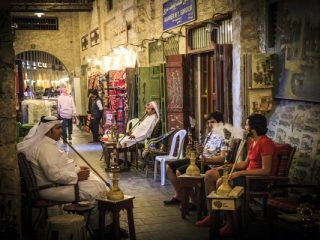 Souq Waqif of Doha