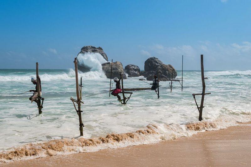 Stilt Fishing Kosggala