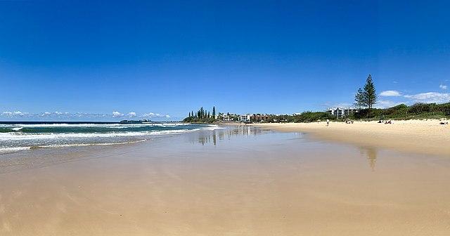 Alexandra Headland beach Queensland
