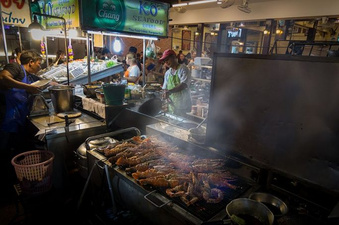 Lively nightlife in Hua Hin