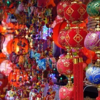 China Town Street market
